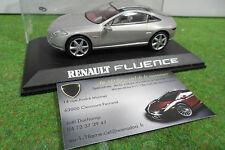 RENAULT FLUENCE concept car gris échelle 1/43 PR voiture miniature de collection
