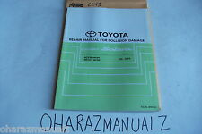 2003 TOYOTA Camry Solara ACV30 MCV31 Repair Manual for Collission Damage