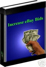 Increase Bids On eBay Auctions With 5 Minute Search - Make Items Desirable (CD)