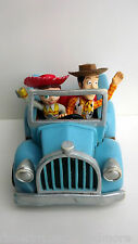 Walt Disney TOY STORY 2 Woody & Jessie Pull Back Car (Disney Store Exclusive)