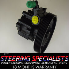 Peugeot Expert 2.0 HDI 2000 to 2006 Remanufactured Power Steering Pump