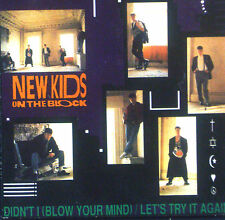 "3""CD NEW KIDS ON THE BLOCK - let's try it again/ didn't i / please don't go girl"