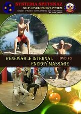 Russian Martial Arts Dvd 13 Renewable Internal Energy Massage, Self-Development