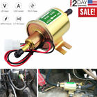 12V Universal 4-7 PSI Gas Diesel Inline Low Pressure Electric Fuel Pump HEP02A  for sale