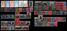 L'ANNÉE 1941 Complète, Oblitérés = Cote 124 € / Lot Timbres France 470 à 537
