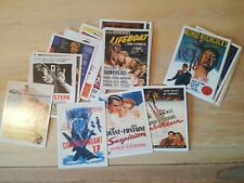 ALFRED HITCHCOCK - Complete Set Of 30 Movie Idols Cards
