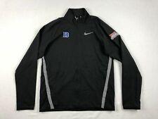 NEW Nike Duke Blue Devils - Black Dri-Fit Jacket (M)