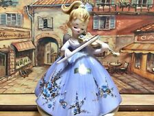 "New ListingVintage Josef Originals - Bess from ""Musicale"" Series - Girl w/ Violin Figurine"