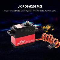 JX PDI-6208MG 8KG Metal Gear Digital Servo for 1/10 RC Drift Cars P0M5