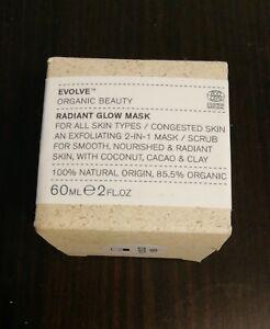 Evolve Organic Beauty - Radiant Glow Mask - 60ML.