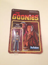 The Goonies ReAction Figures Data Action Figure MINT ON CARD Collectable Movie