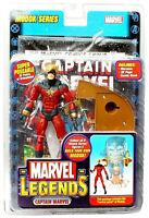 Marvel Legends Captain Marvel Figure PVC 16cm