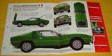 1973 Alfa Romeo Montreal V8 2593cc 200 hp SFI IMP Info/Specs/photo 15x9