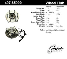 Wheel Bearing and Hub Assembly-RWD Front Centric 407.65000E