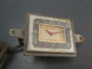 Original 1938 DeSoto Accessory Dash Clock