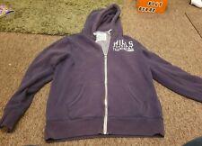 Jack Wills blue full zip hoodie size medium