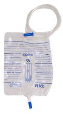 25 x Urinbeutel, 2L, Schlauch 130 cm, mit Ablassventil , nicht steril