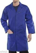 Warehouse Laboratory Lab Coat / Cow Gown Navy or White