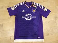 76af5237f86 NWT Adidas 2015 16 Orlando City SC Authentic AdiZero Purple Home Jersey  (Large)