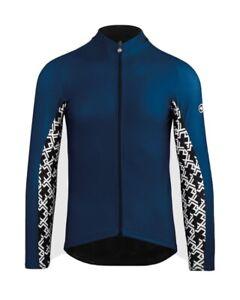 Assos Mille GT Spring Fall long sleeve jersey blue XLG XXL