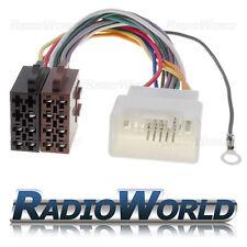 Mitsubishi Stereo Auto/Radio ISO Cablaggio Cavo Adattatore Connettore guaina