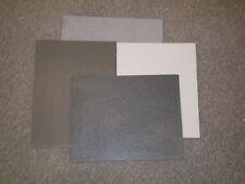 6 Piece of DuPont Corian- Blacks & Greys