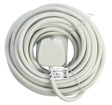 Pifco 10 Meter Extension Lead Cable 13 Amp Mains Plug Socket Single Gang