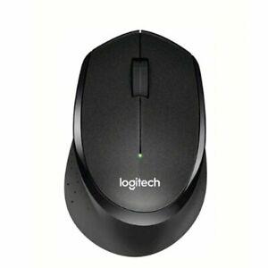 Logitech M330 Silent Plus Mouse Ergonomic 10M 2.4GHz For PCLaptop Mac Wireless!