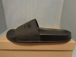 Reebok Fulgere Men's Slide Sandal NIB* Sizes Black Finish summer in comfort!