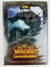 Blizzard WoW World of Warcraft Cataclysm Behind the Scenes Limited Edition DVD