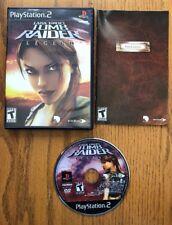Lara Croft: Tomb Raider - Legend - Playstation 2 Game Complete