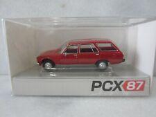 PCX87 #0027 PEUGEOT 504 BREAK / WAGON in RED Model is Plastic 1/87 / HO SCALE