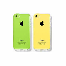 Funda Carcasa transparente para iPhone 5C EFECTO CRISTAL Ultrafina