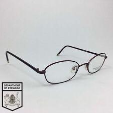 RALPH LAUREN eyeglass PURPLE RECTANGLE WIRE frame Authentic MOD:RL697