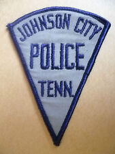 Patches: JOHNSON CITY TENNESSEE POLICE PATCH (NEW* apx. 10.5x8 cm)
