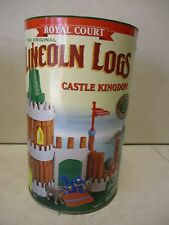 2000 Royal Court Lincoln Logs Castle Kingdom