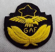 Ghana Armée De L'Air GAF Chiffon Insigne De Coiffure pour Bouchon Latéral/Béret,