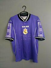 Real Madrid Jersey 1997 1998 Away L Shirt Mens Football Camiseta Kelme ig93