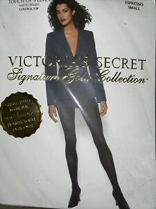 Victoria's Secret Signature Gold Collection Velvet Color Espresso Small 7742- 20