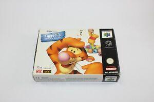 Tiggers Honey Hunt Tigger's Nintendo 64 100% Genuine n64 Visit Our Store