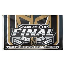 2018 Western Conference Champions Stanley Cup 3x5 Flag Las Vegas Golden Knights