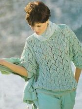 Lace Sweaters/Clothes Crocheting & Knitting Patterns