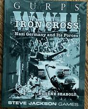 Steve Jackson - Gurps WWII Iron Cross NEW* RPG Sourcebook