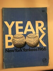 1966 NY Yankees Yearbook