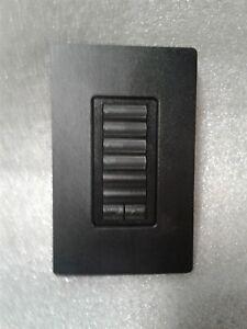 Lutron Homeworks HQWD-W6BRL 6 Button Keypad - Black