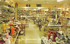 Holland Michigan~The Amsterdam Gift And Curio Shop~Interior~1960s Postcard