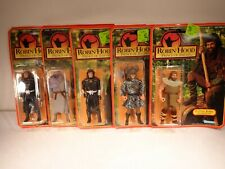 Lot 5 Kenner 1991 ROBIN HOOD Prince of Thieves Action Figures Toy ON CARD
