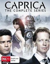 CAPRICA : THE COMPLETE SERIES  (English Cover) - DVD - UK Compatible -Sealed