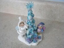 Dreamsicles Northern Lights Tree Trimmers #60093 Figurine Cherub Penguin