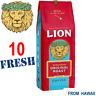 10 FRESH Lion ORIGINAL MEDIUM ROAST coffee 10oz Pack Ground Hawaii FREE SHIPPING